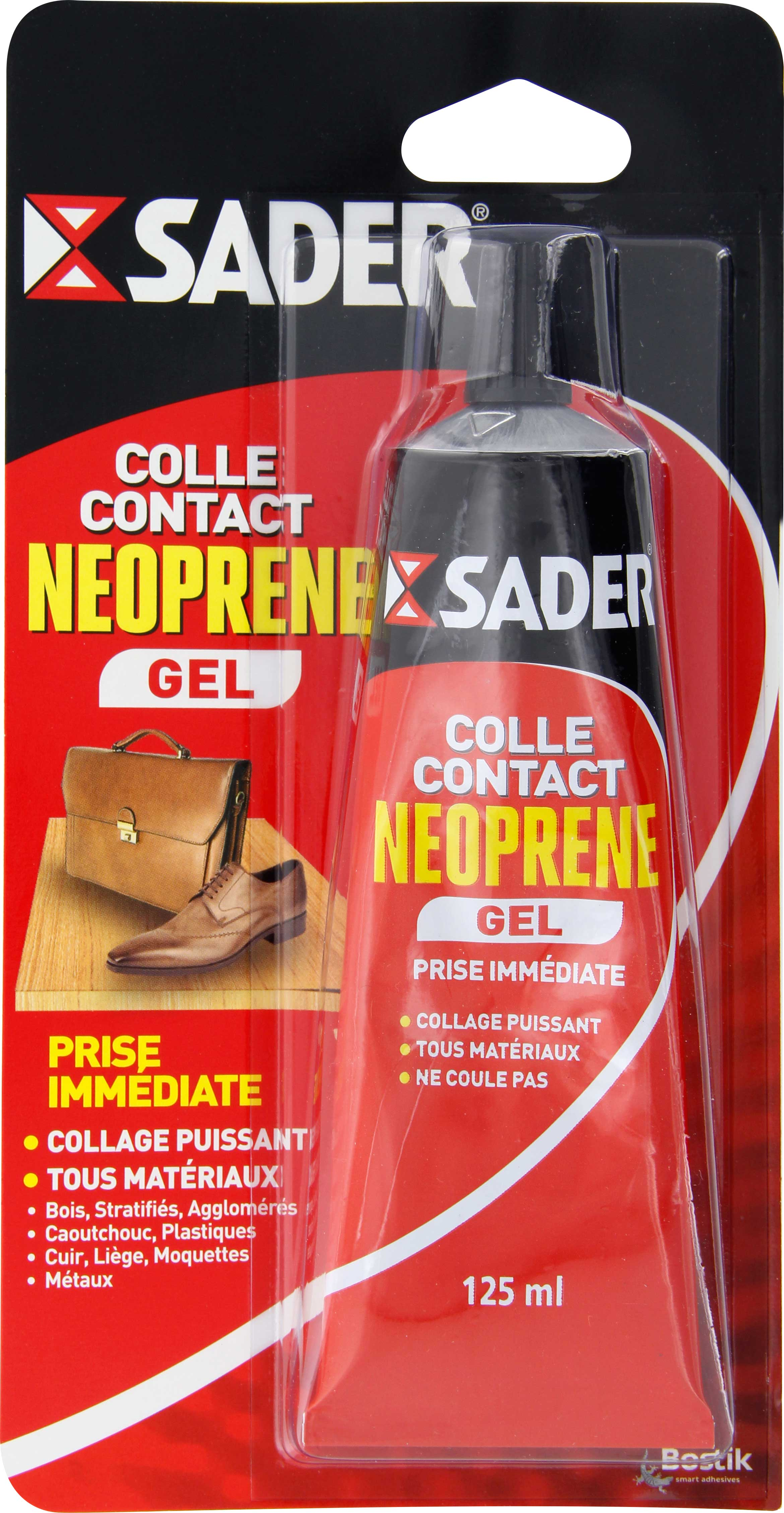 Colle néoprène contact gel Sader