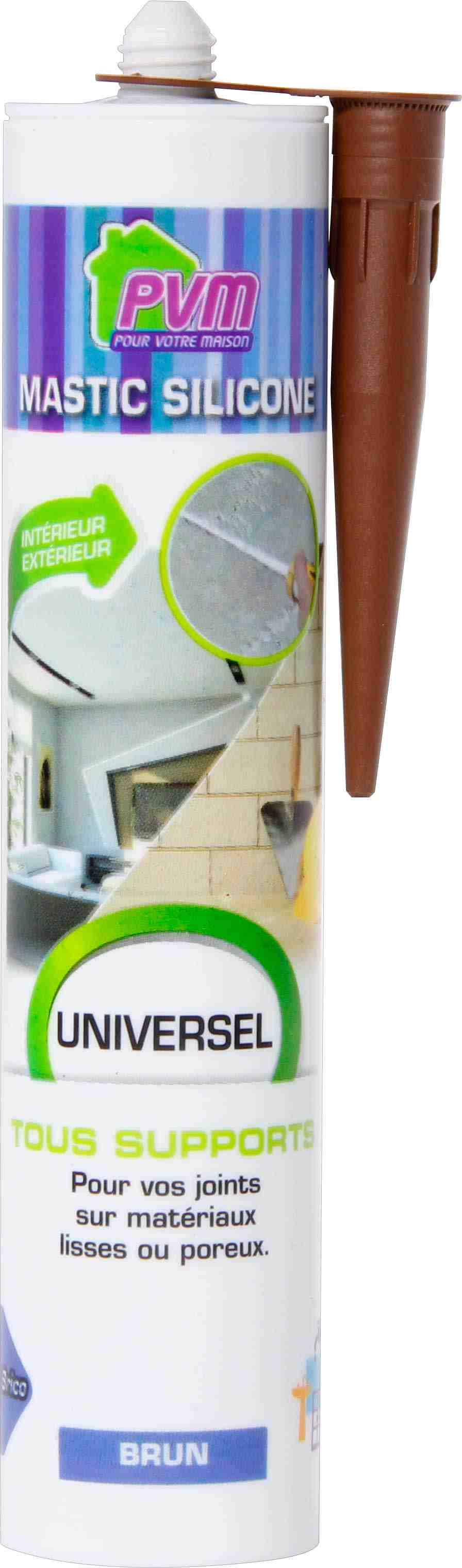 mastic universel pvm brun de mastic multi usages 1064964 mon magasin g n ral. Black Bedroom Furniture Sets. Home Design Ideas