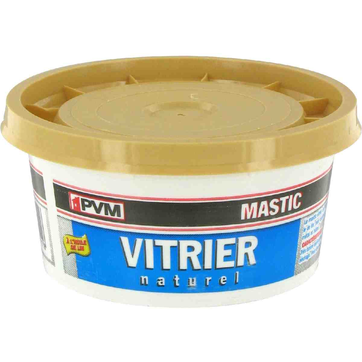 mastic vitrier pvm naturel pot 500 g de mastic vitrier 1064967 mon magasin g n ral. Black Bedroom Furniture Sets. Home Design Ideas