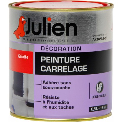 Peinture carrelage julien griotte for Peinture direct carrelage rennes