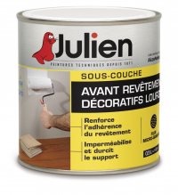 sous couche julien avant rev tement d coratif lourd j9 500 ml de peinture sous couche. Black Bedroom Furniture Sets. Home Design Ideas