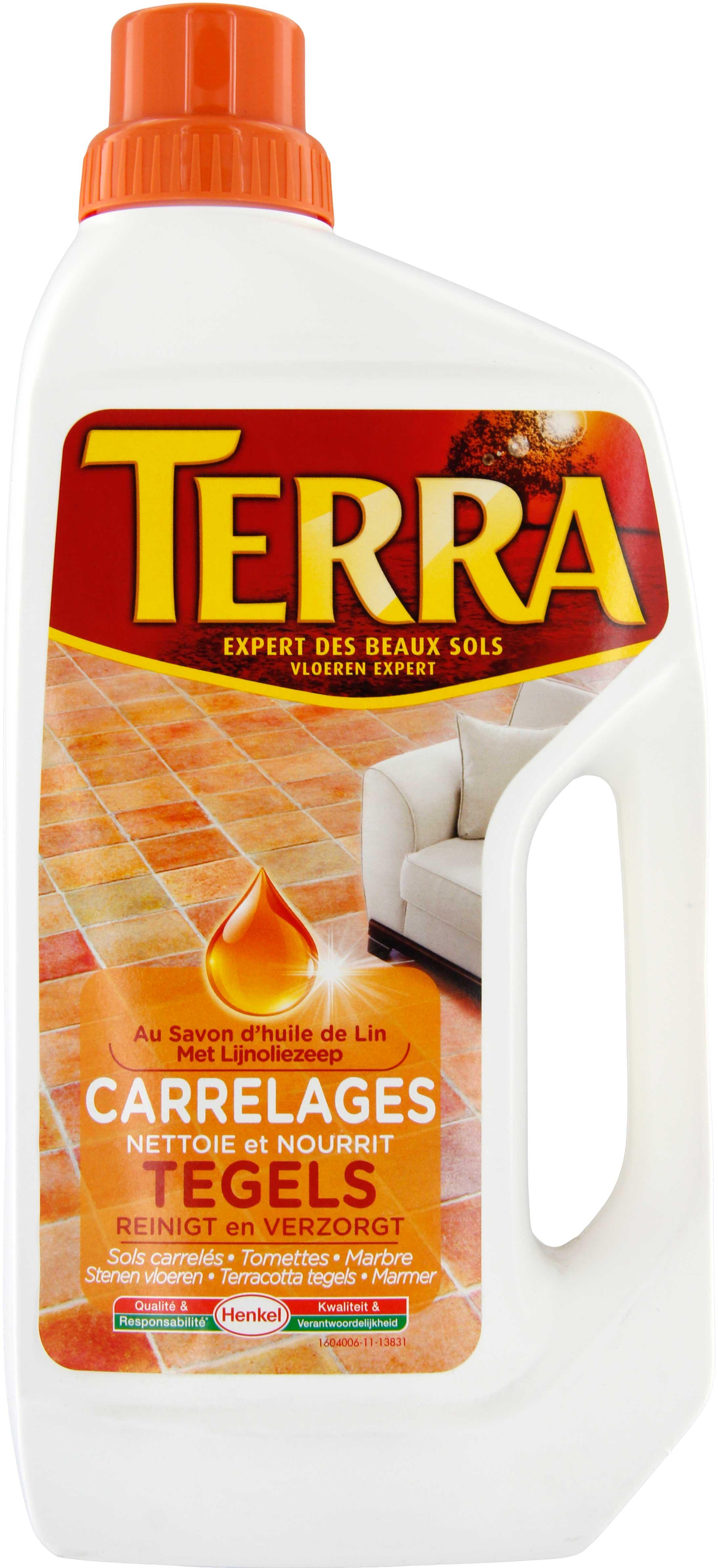 Savon huile de lin terra flacon 1 l achat vente de savon - Huile de lin tomettes ...