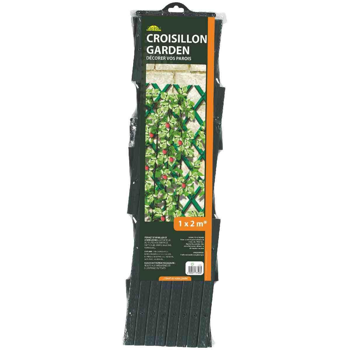 Croisillon plantes l g res cap vert longueur 2 m largeur 1 m de croisillo - Croisillon pour balcon ...