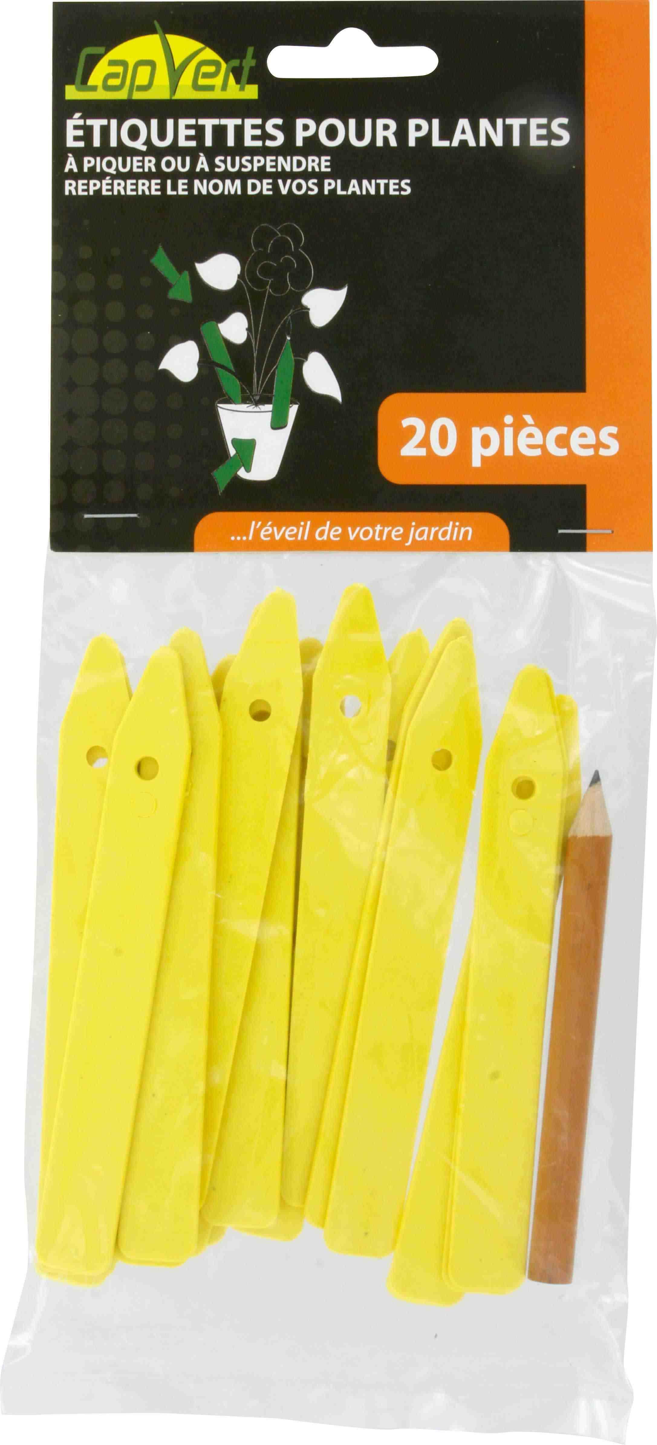 etiquette piquer ou suspendre cap vert longueur 13 5 cm vendu par 20. Black Bedroom Furniture Sets. Home Design Ideas