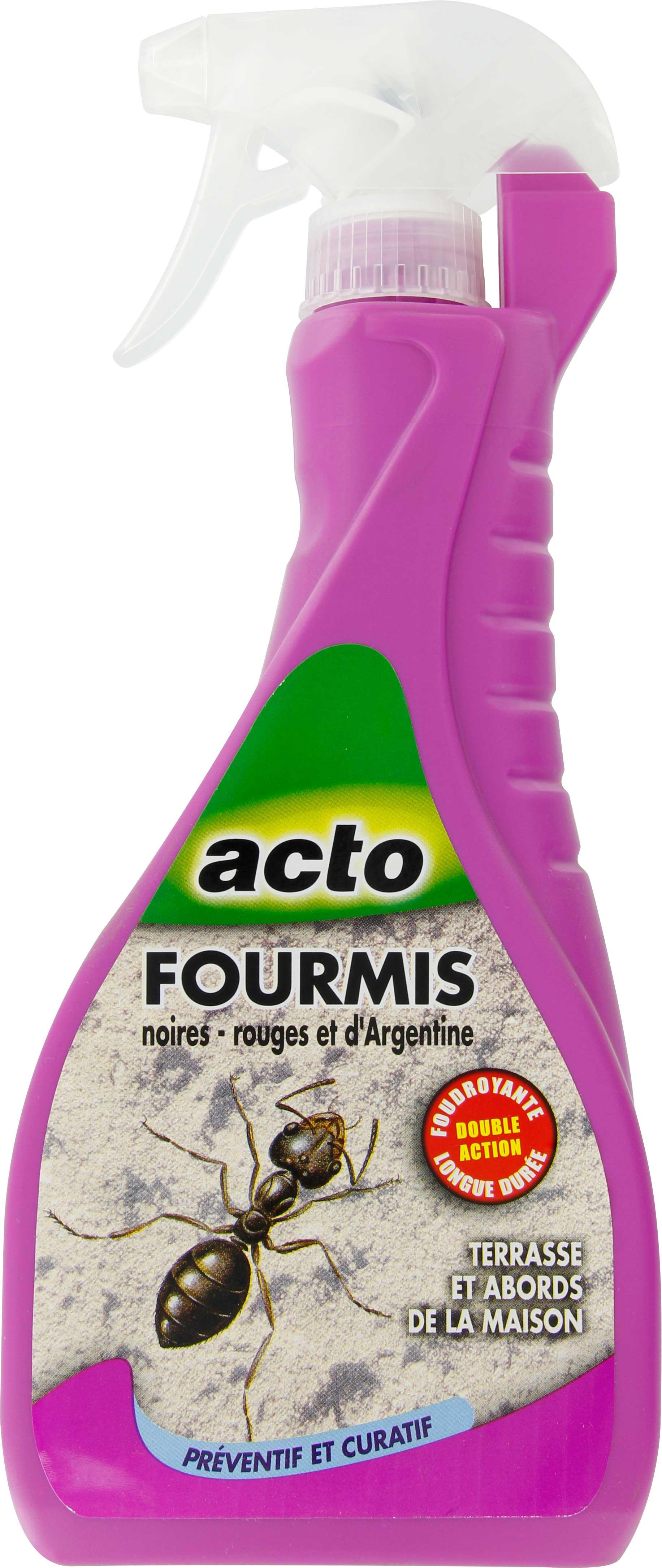 Fourmis pulv risateur acto de insecticide fourmis 1072054 mon magasin g n ral - Fourmi rouge et tamanoir ...
