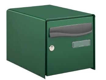 bo te aux lettres ouverture totale r box lys decayeux simple face vert. Black Bedroom Furniture Sets. Home Design Ideas