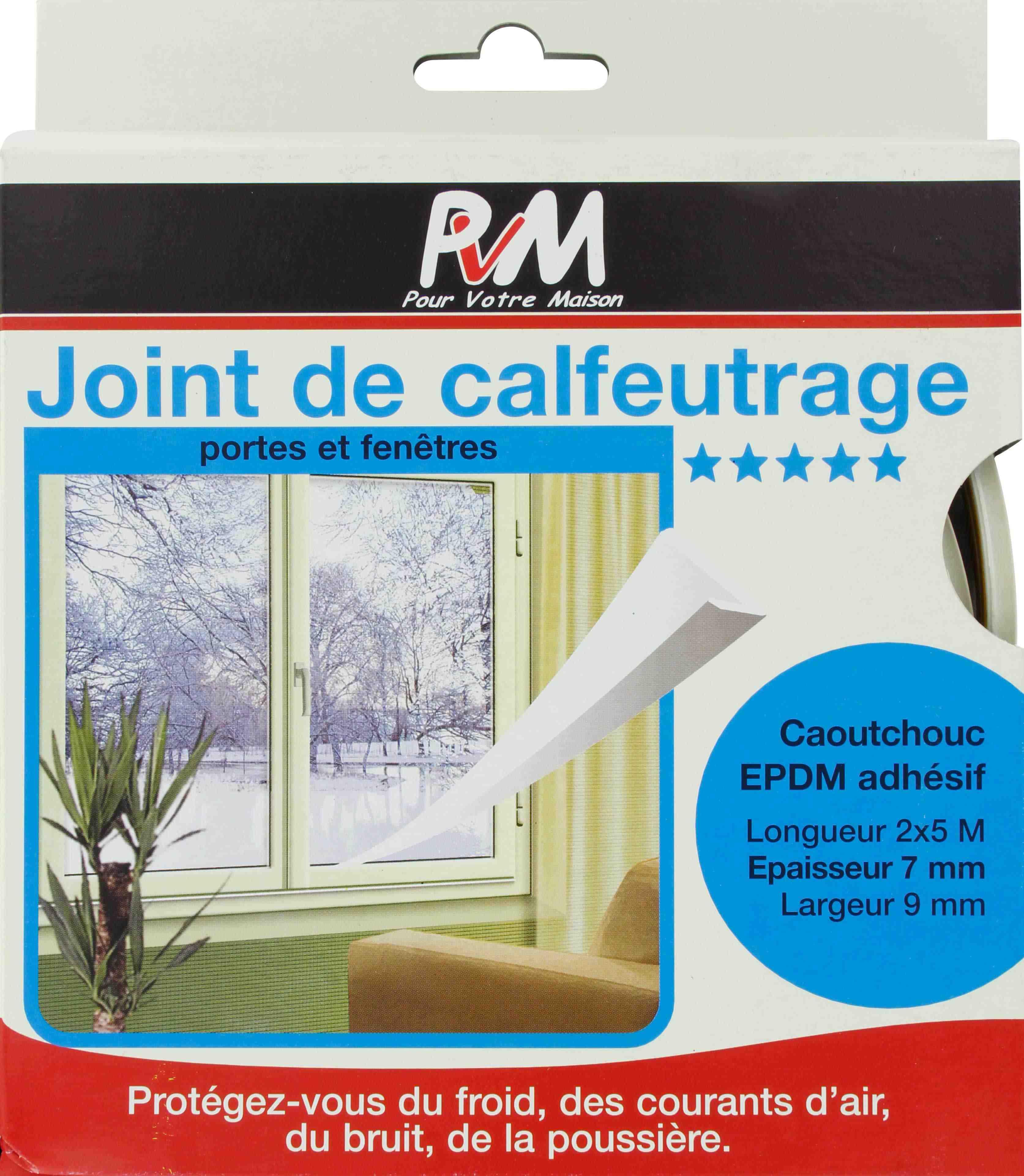 joint caoutchouc profil v pvm blanc longueur 10 m de joint thermique. Black Bedroom Furniture Sets. Home Design Ideas