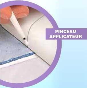 Retouche pour surfaces maill es geb tube 20 ml blanc de produit de r par - Reparer email baignoire ...