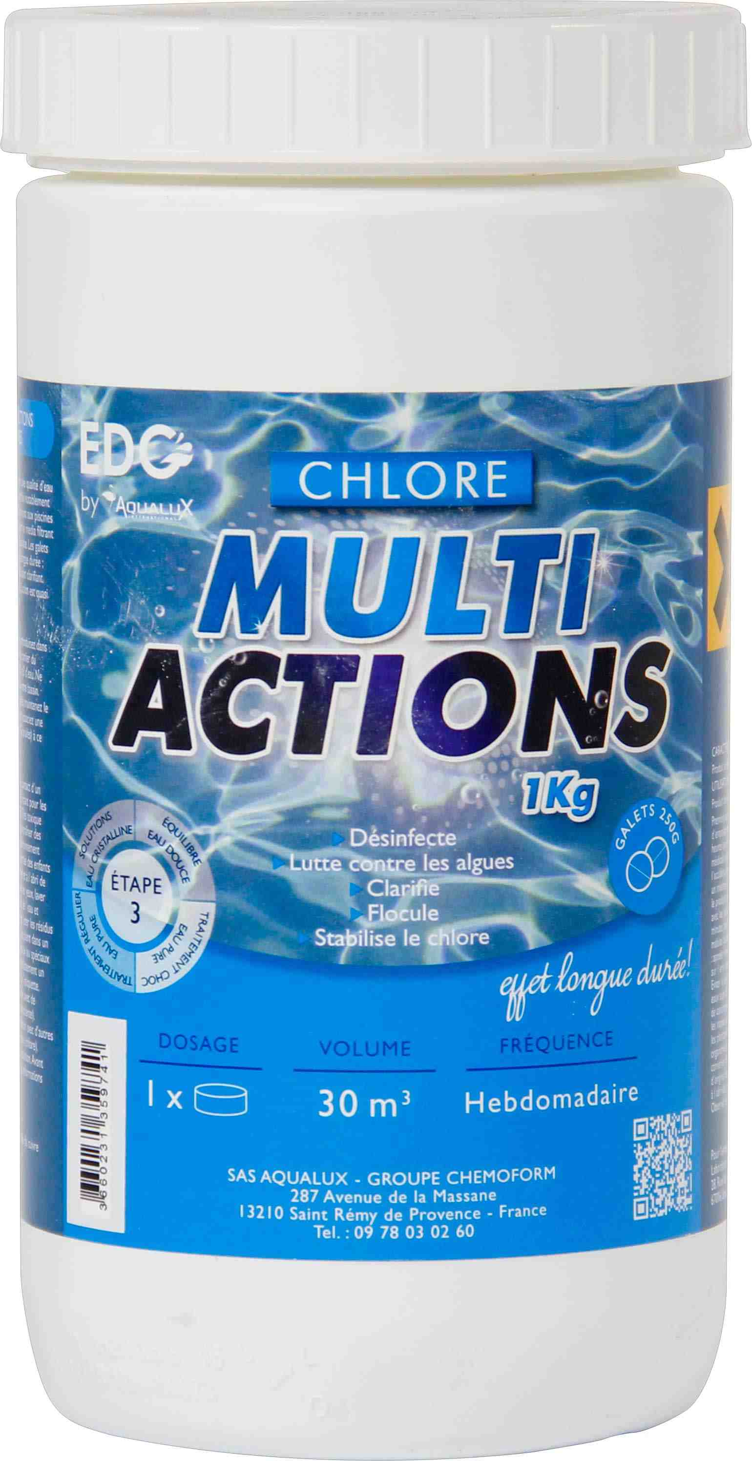 Chlore multiactions