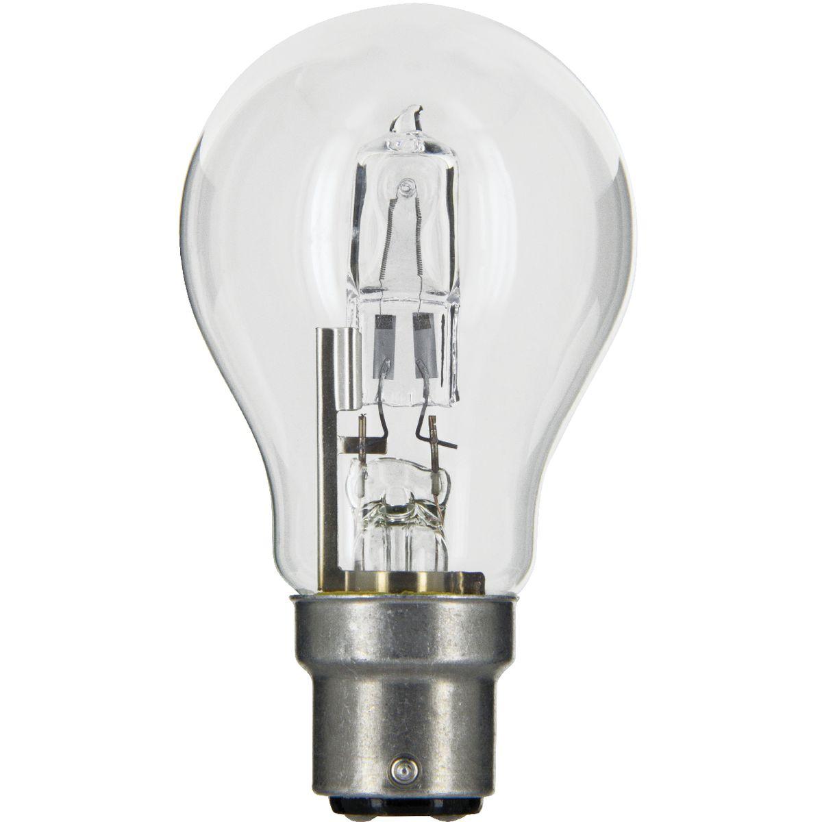 ampoule co halog ne standard b22 dhome 20 w de ampoule co halog ne. Black Bedroom Furniture Sets. Home Design Ideas