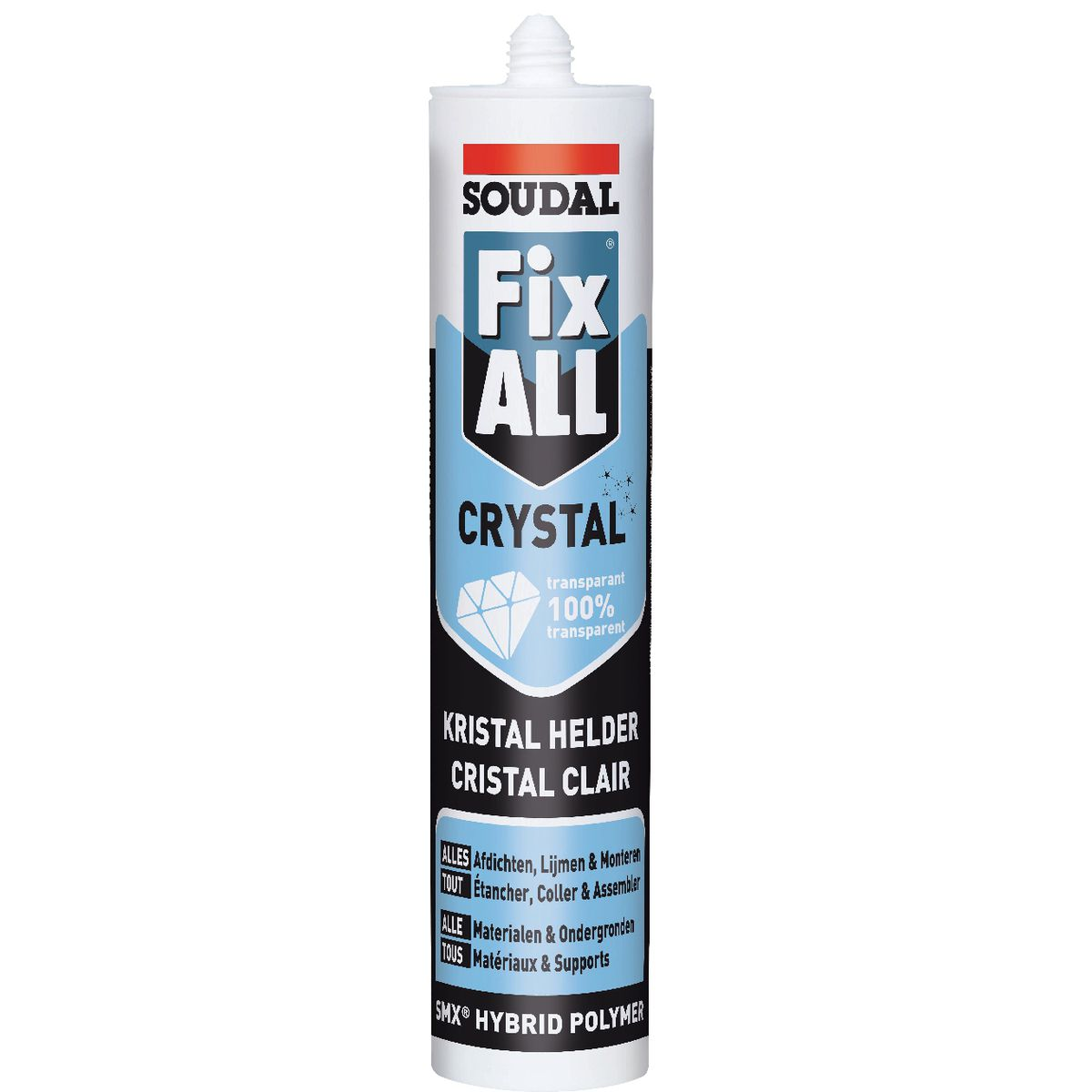 Mastic Fix All Crystal Soudal