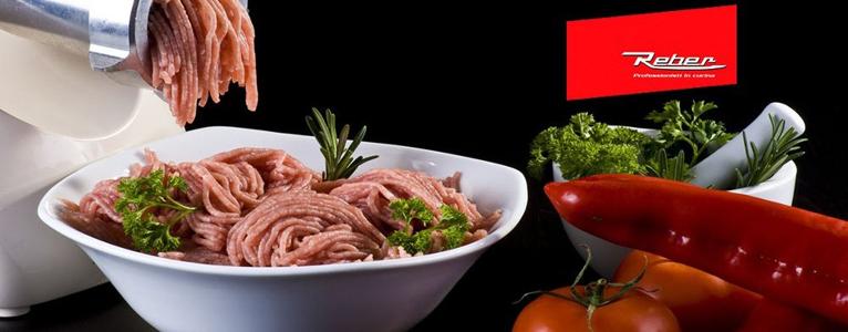 Poussoir saucisse reber hachoir viande reber appareil mise sous vide reber - Hachoir a viande pas cher ...