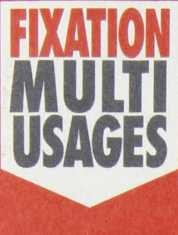 FIXATION MULTI USAGES