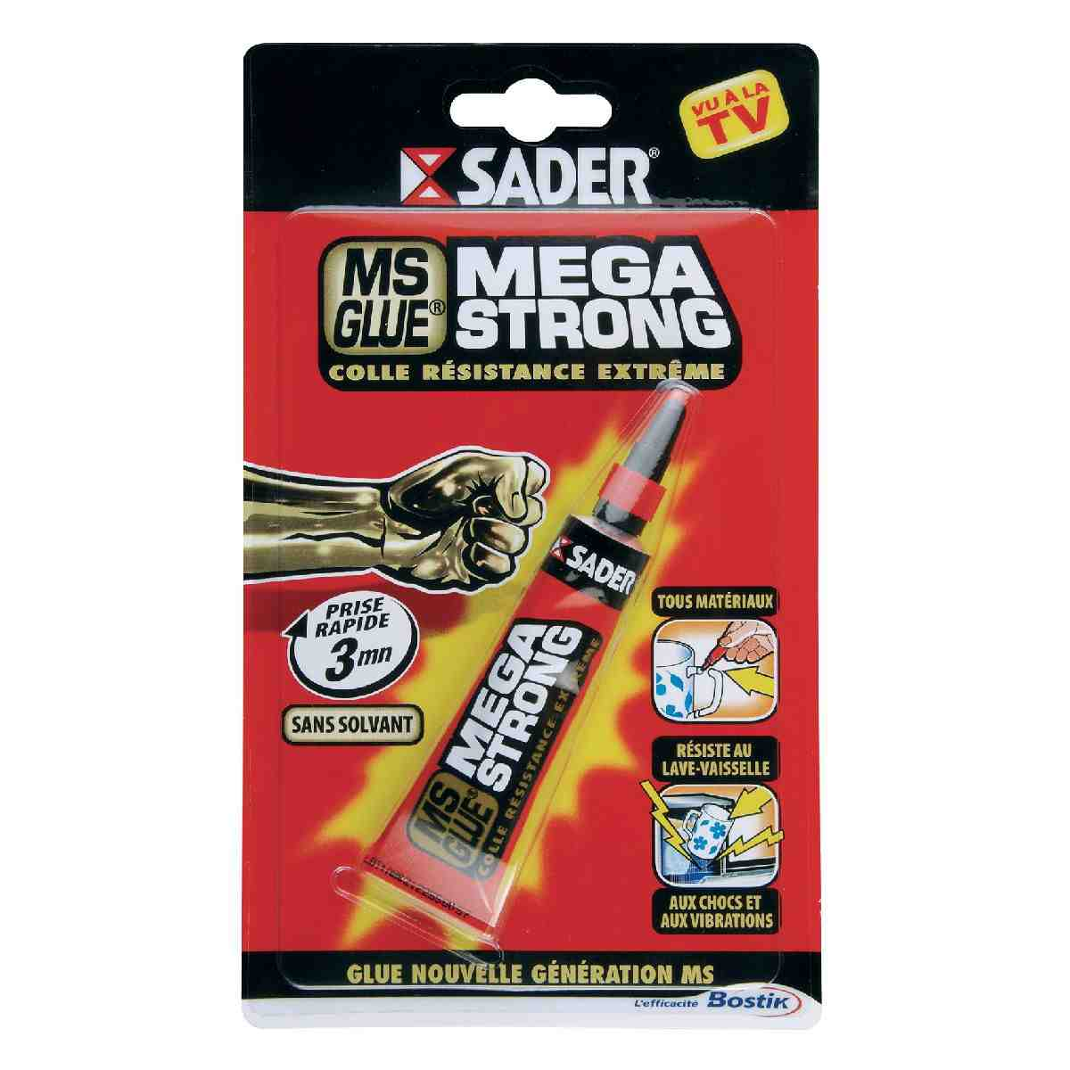 Colle MS Glue Méga Strong Sader