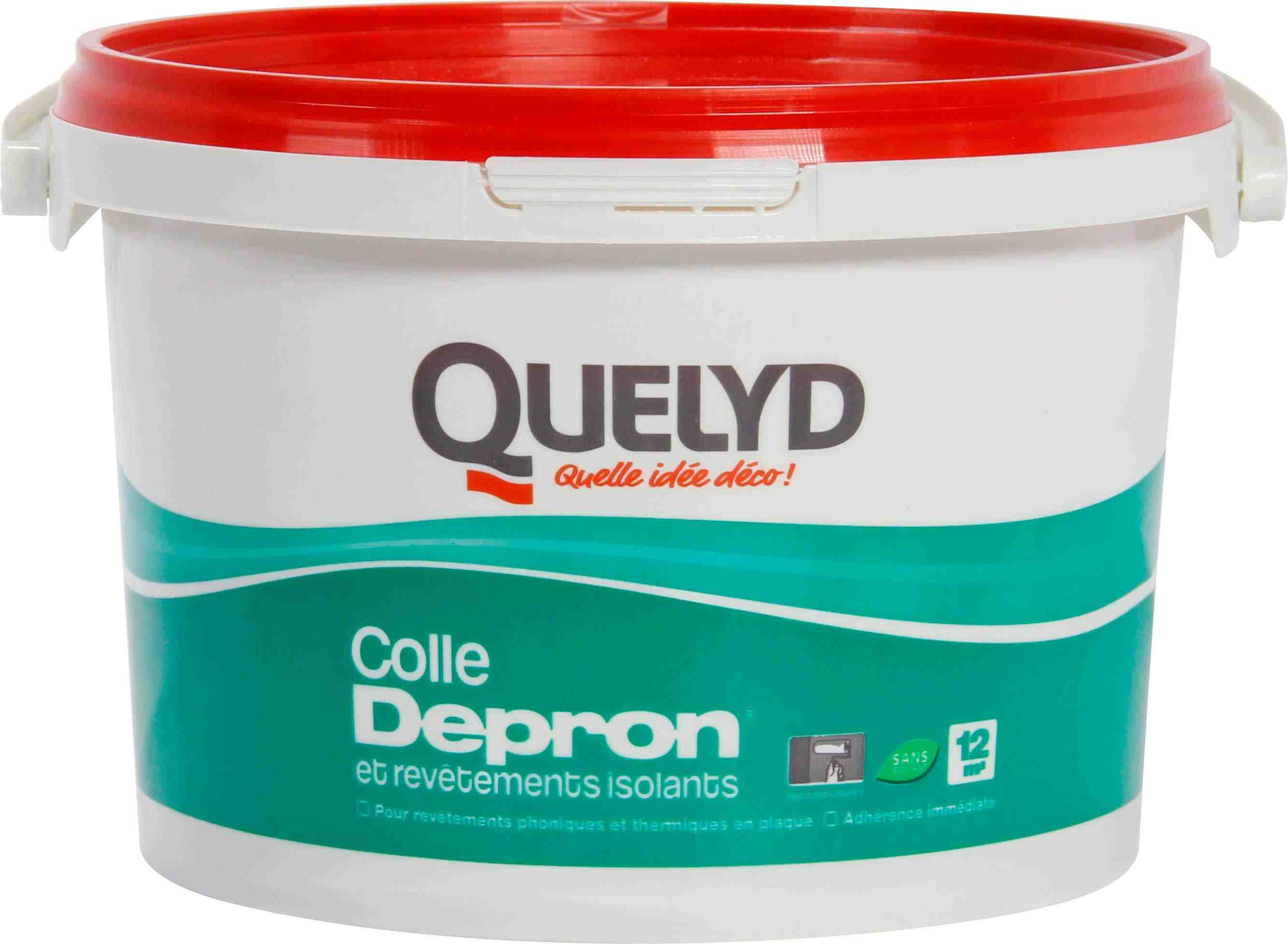 Colle pour isolant Dépron Quelyd