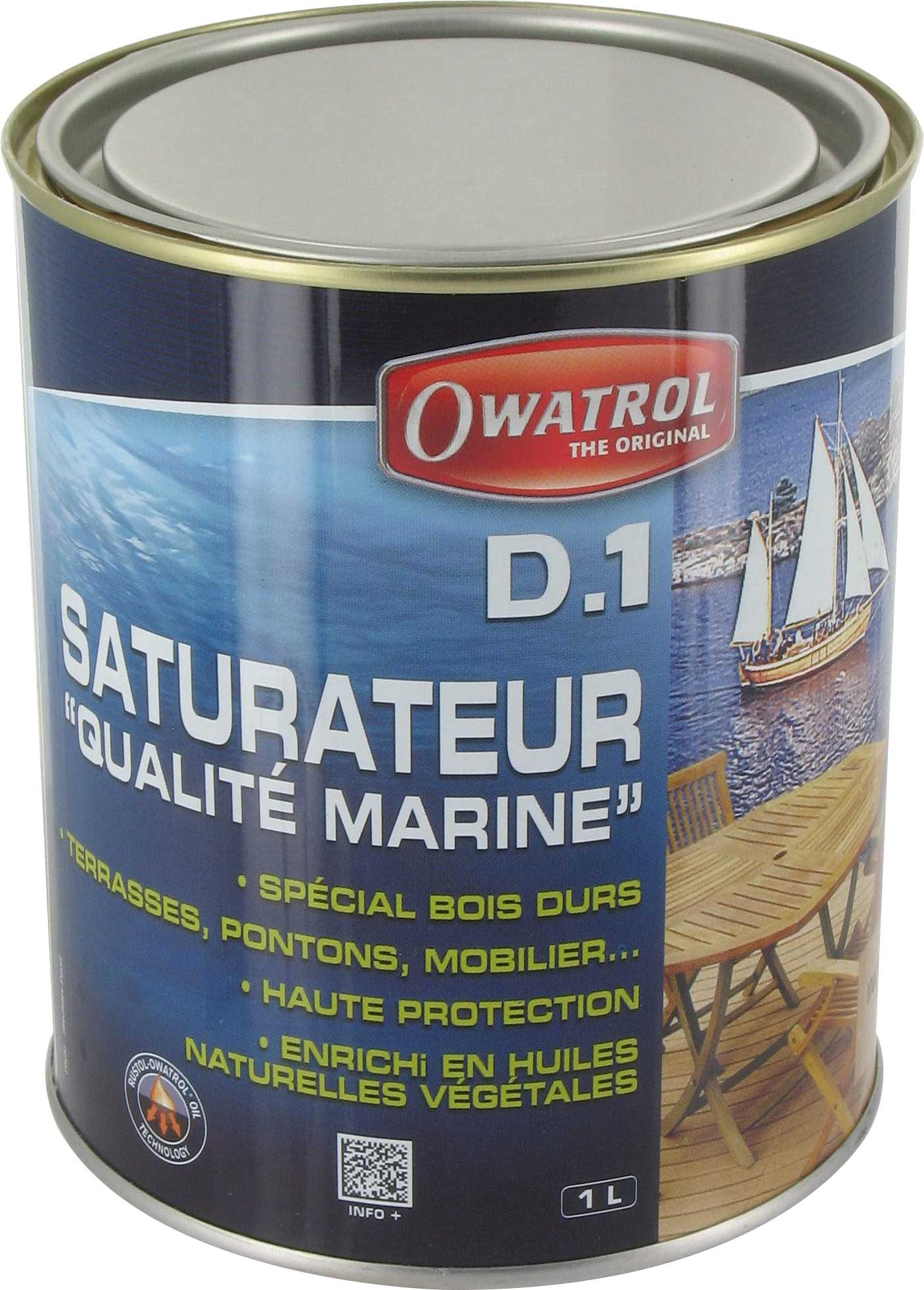 Saturateur bois tropicaux Durieu