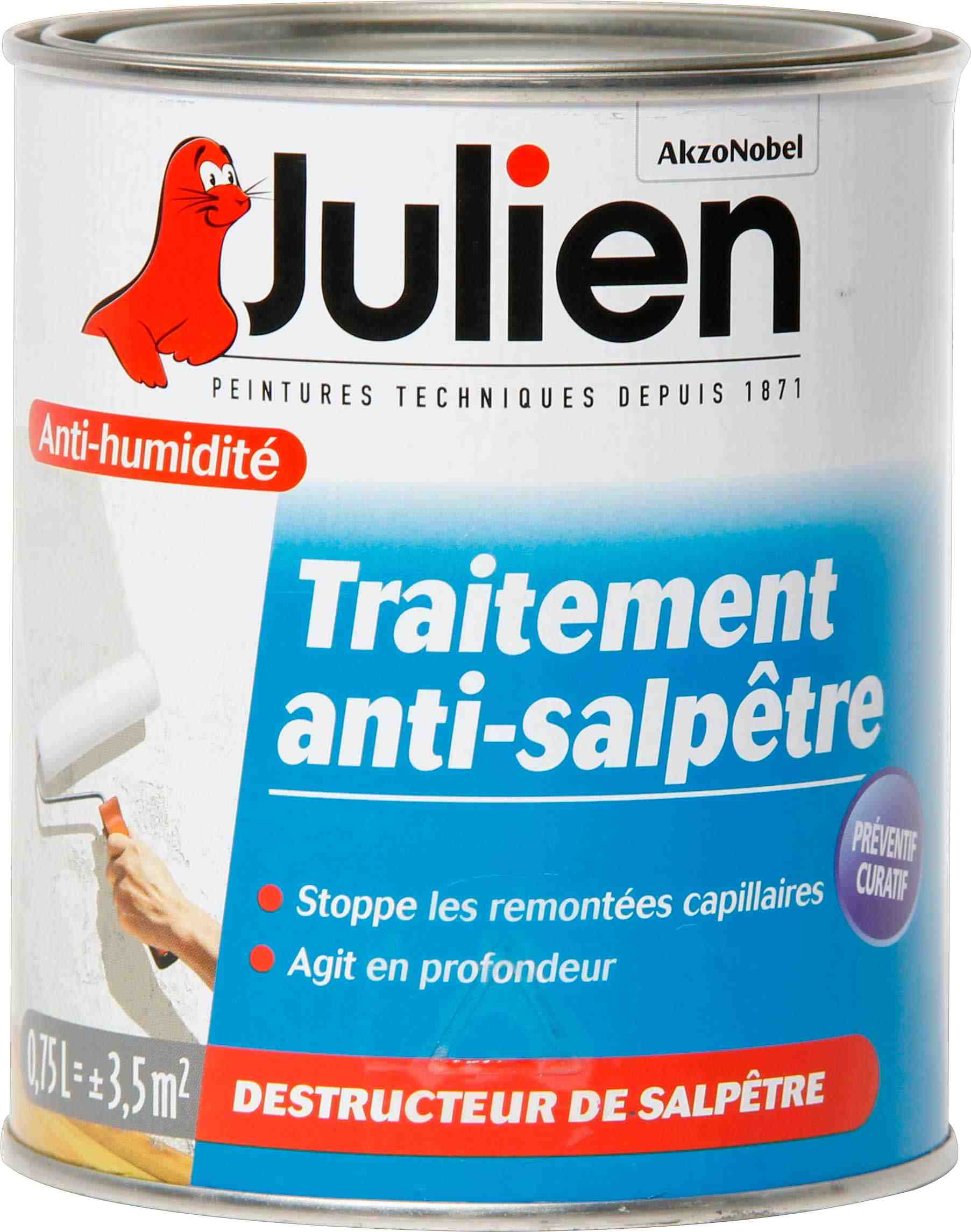 Traitement anti salp tre julien bo te 750 ml de - Salpetre traitement javel ...