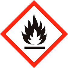 Matière solide inflammable