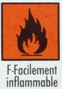 F-Facilement inflammable