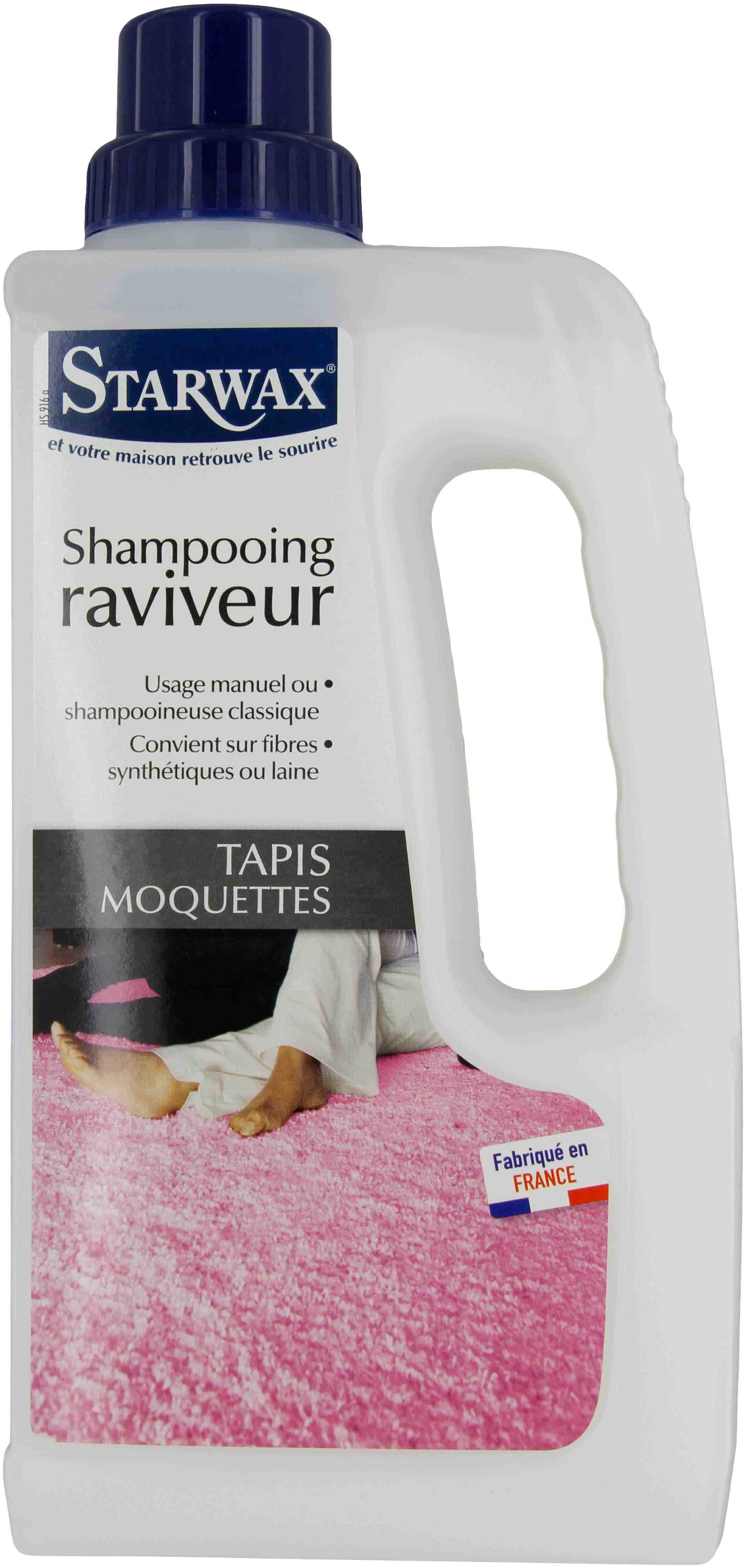 Shampooing raviveur Tapis-moquettes Starwax