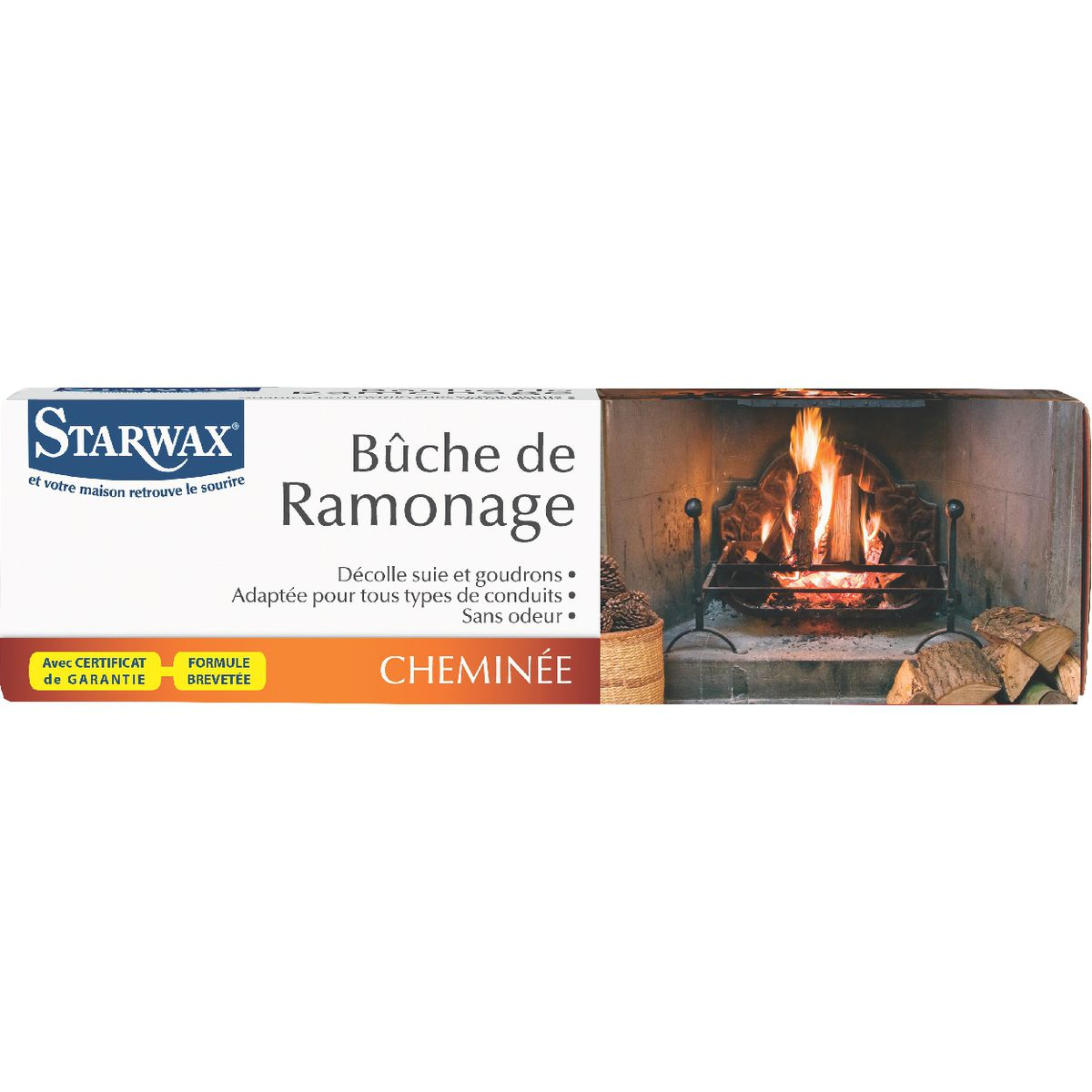 Bûche de ramonage Starwax