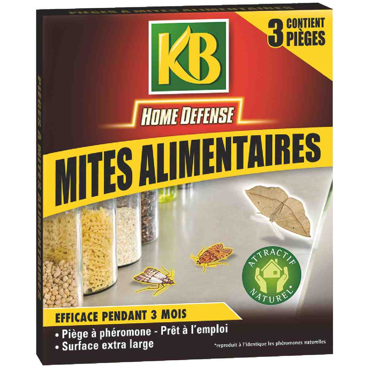 Insecticide mites-alimentaires KB Home Défense