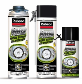 Mousse expansive Power Rubson