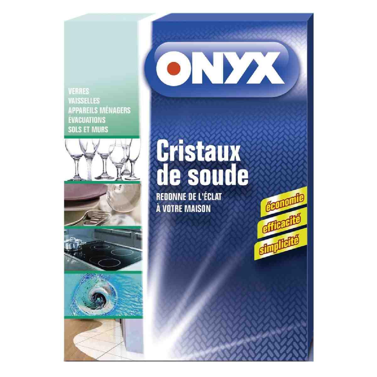 Cristaux De Soude Nettoyage cristaux de soude onyx - paquet de 1,25 kg de cristaux de