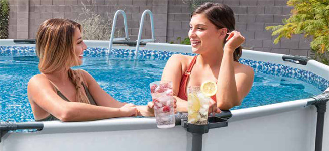 Photo d'ambiance Piscine Steel Pro Max ronde